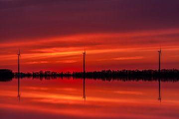 moerdijk zonsondergang