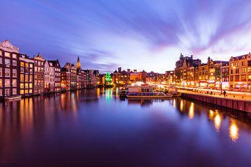 Amsterdam komt laat in de middag tot leven na de storm