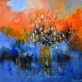 Abstract still life sur pol ledent