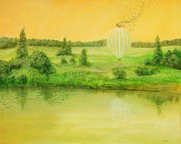 Landender Ballon