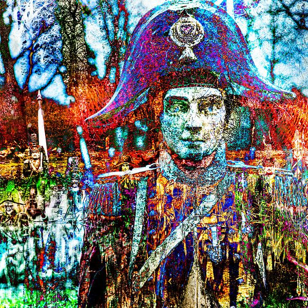 De slag bij Waterloo van 2BHAPPY4EVER.com photography & digital art