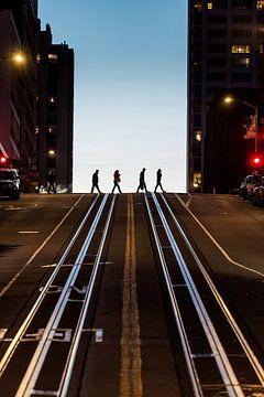Abend in San Francisco von Keesnan Dogger Fotografie