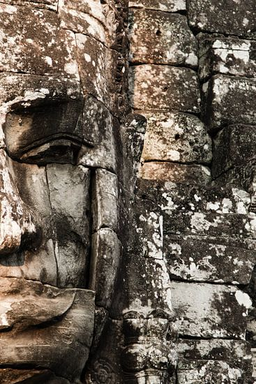 Budha face, Bayon van Lilian Heijmans