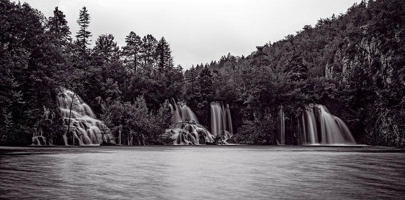 Plitvice watervallen van Richard Guijt Photography