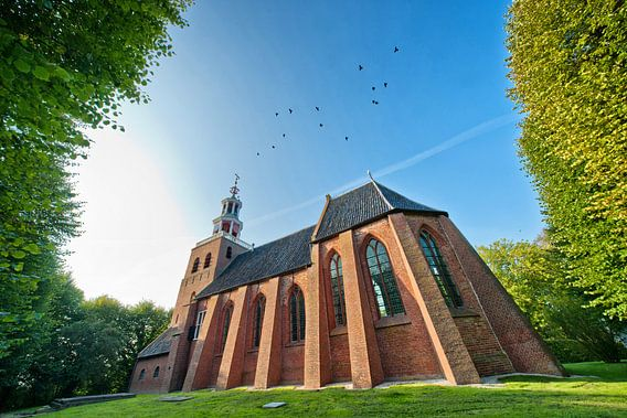 De Petruskerk van Pieterburen van Pieter van Roijen
