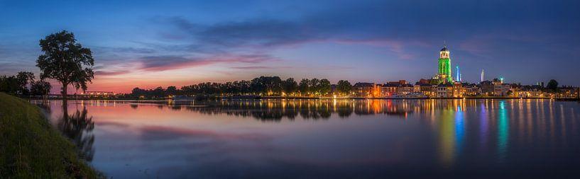 Deventer Skyline Panorama von Edwin Mooijaart