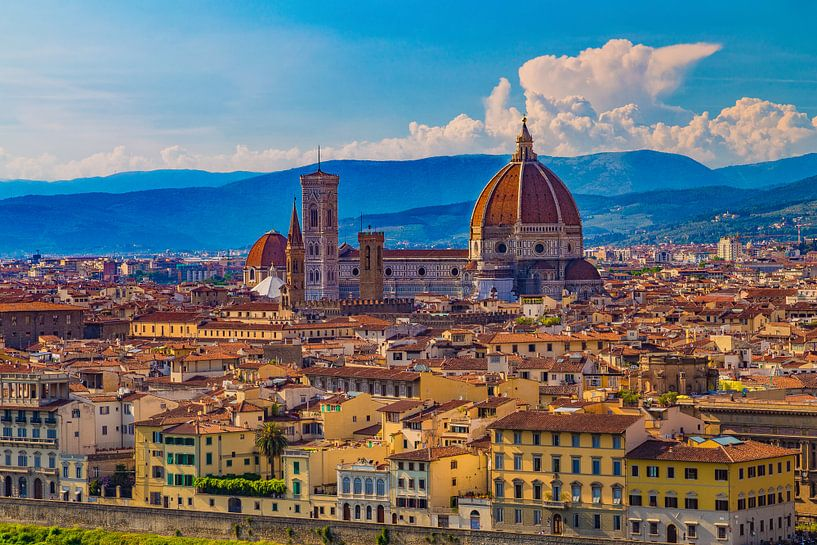 Florence, Italië - Uitzicht over de stad - 1 van Tux Photography
