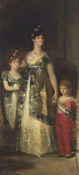 La Reine d'Espagne et les princes, Mariano Fortuny