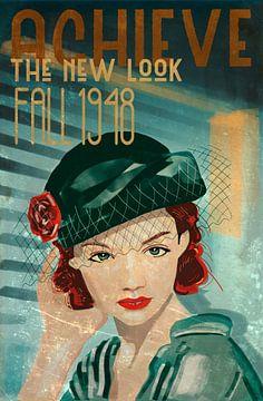 Modeplatte 1948 von Bert-Jan de Wagenaar