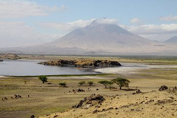 Lake Natron, Tanzania van Marvelli