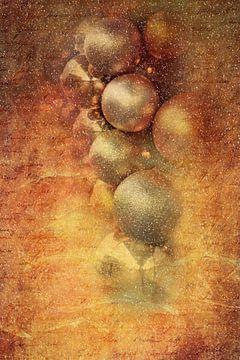 Goldene Weihnachtsdekoration von Heike Hultsch