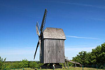 Windmühle in Klein Mühlingen von Karina Baumgart