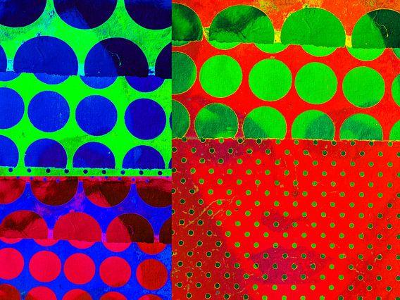 POp ARt COllage 1 van Gabi Hampe