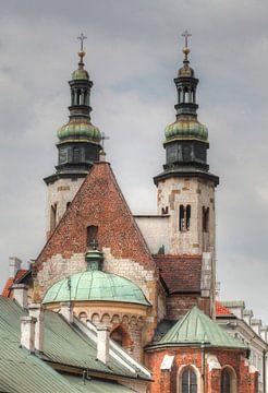 St. Andrewss Church in the Grodzka street , Stare Miasto old town, Krakow, Lesser Poland, Poland, Eu