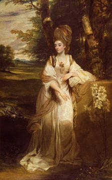 Lady Bampfylde, Joshua Reynolds sur