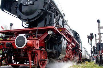 Stoomtrein locomotief 2 sur Wybrich Warns