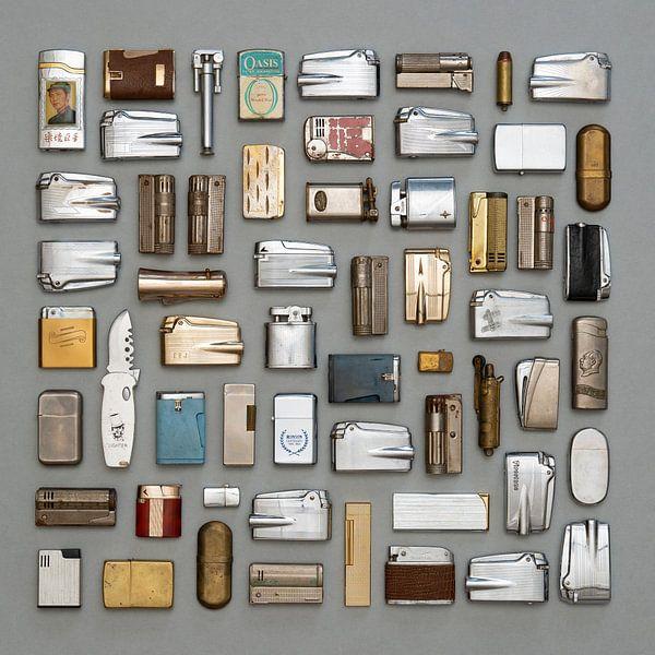 Kollektion Vintage-Feuerzeuge von Floris Kok