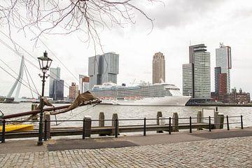Oud en nieuw in Rotterdam van Peter Hooijmeijer