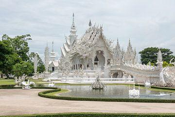 Weißer Tempel, Chiang Rai von Richard van der Woude