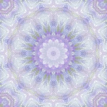 Mandala Lavendel von Marion Tenbergen