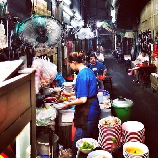 Steegjes in Bangkok