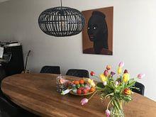 Kundenfoto: Schönes Schwarz (1 von 2) von Ton van Hummel (Alias HUVANTO), auf leinwand