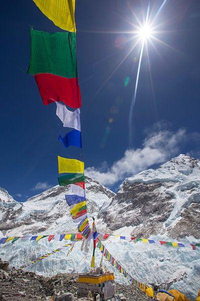 Basislager Mount Everest von Menno Boermans