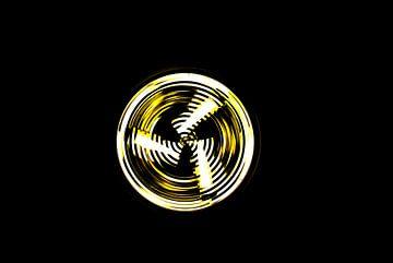 cirkelvormig licht van