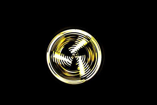 kreisendes Licht