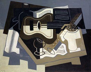 Gitarre und Klarinette, Juan Gris