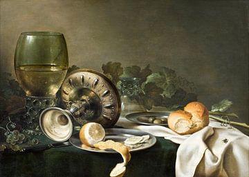 Stilleven, Willem Claesz. Heda van Meesterlijcke Meesters
