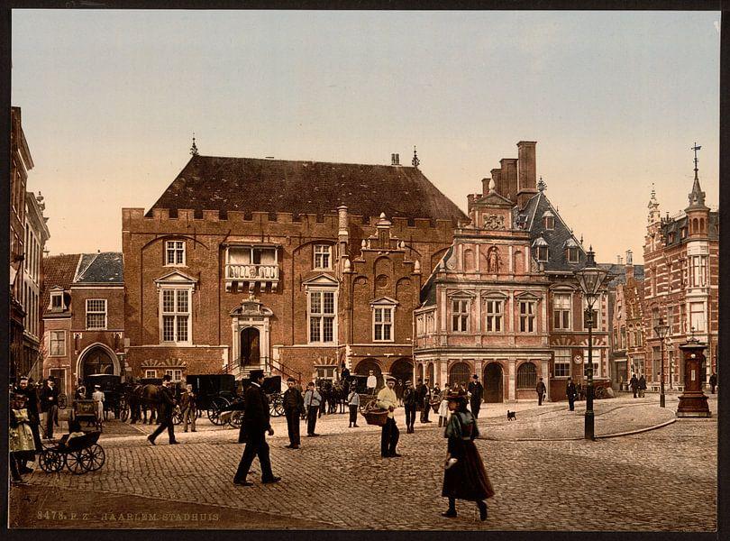 Stadhuis, Haarlem van Vintage Afbeeldingen