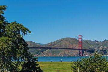 Golden Gate Bridge in San Francisco, USA. von Patrick Vercauteren