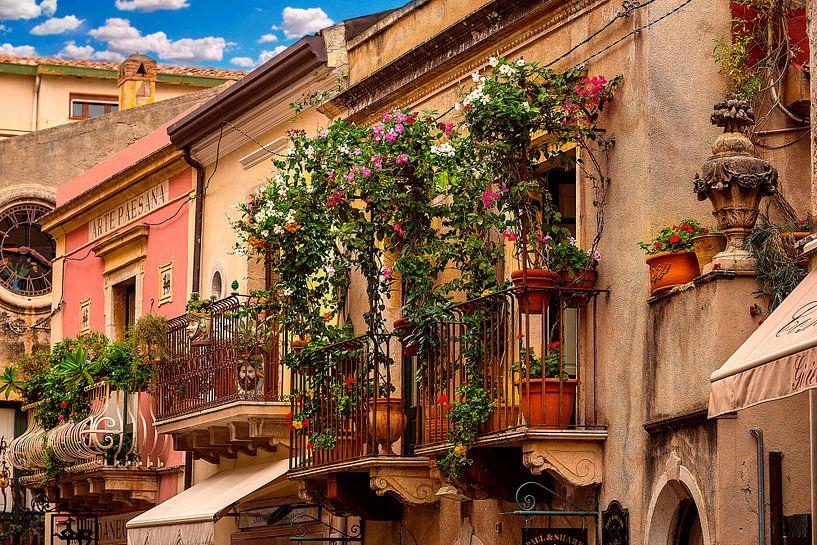 The Sicilian balcony sur Costas Ganasos