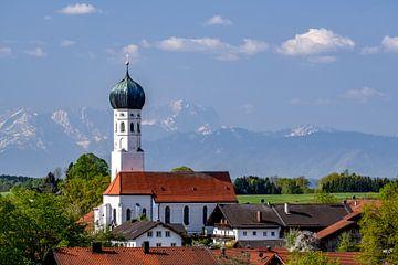 Zugspitzblick in Oberbayern von Achim Thomae