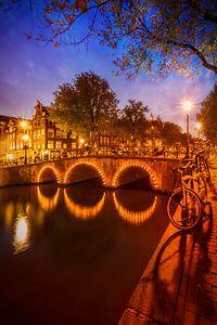 AMSTERDAM Keizersgracht avond idylle