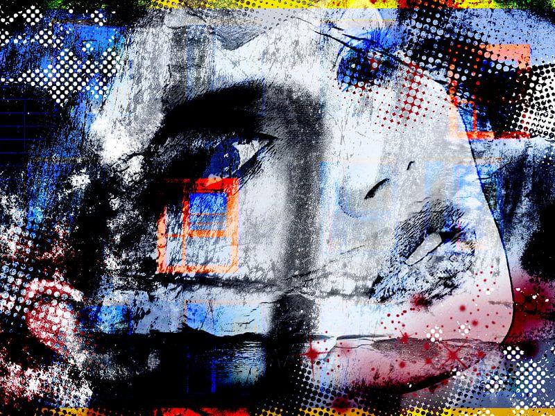 Woman in disguise von PictureWork - Digital artist