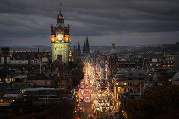 Edinburgh Princess Street von Tim Kreike