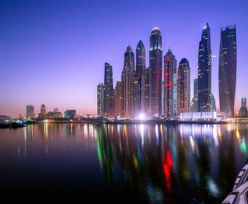 Dubai Marina Skyline von Rene Siebring
