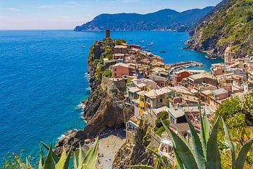 Vue de Vernazza, Cinque Terre en Italie sur Tux Photography