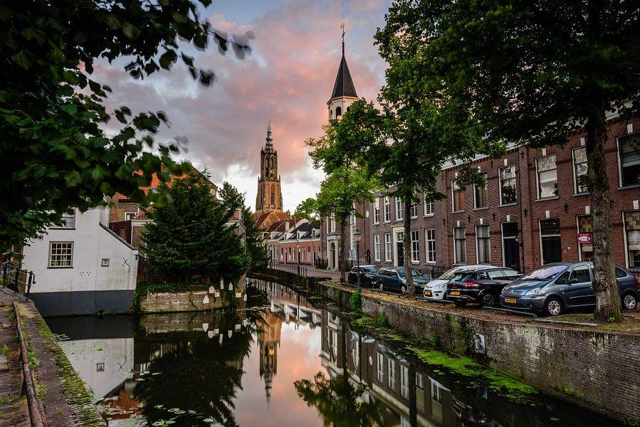 Lange Jan en Elleboogkerk, Amersfoort van Sjoerd Mouissie