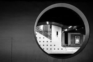 Station Blaak Rotterdam van Edwin van Wijk