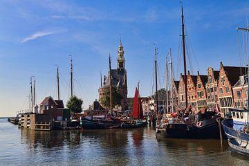 Der alte Hafen von Hoorn von Jan Kranendonk