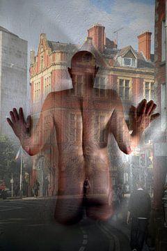 nackt auf der Straße von Cor Heijnen