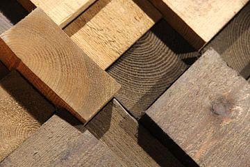 Kops hout  van Fred Vester