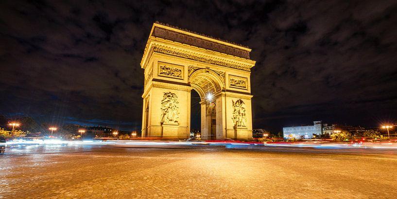 Paris Triumphbogen  van davis davis