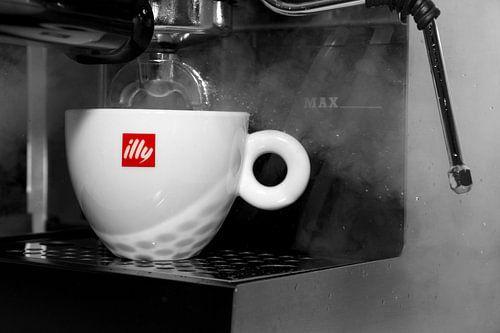 Espresso koffiemachine van