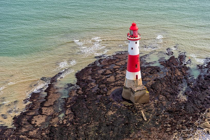 Beachy Head Lighthouse van Leon Okkenburg