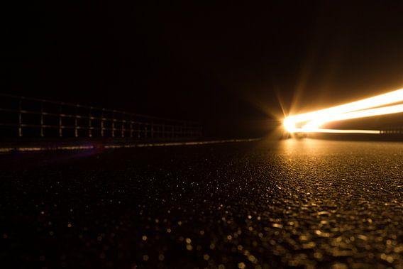 Auto in de nacht