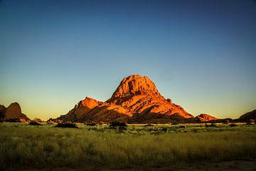 Spitzkoppe, Namibië, Afrika van Nico  Calandra